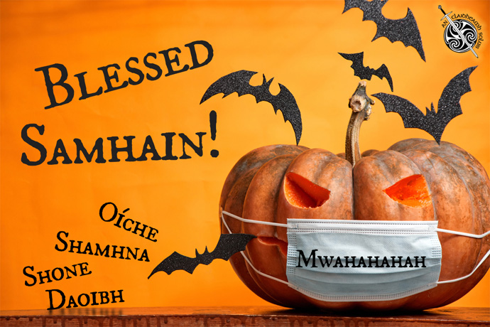 Samhain -- A Celtic New Year and Harvest Celebration! -- The Celtic Arts Center invites you to its Virtual Samhain Online Event